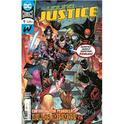 YOUNG JUSTICE NÚM. 09