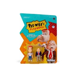 Pee-wee's Playhouse Pack de 2 Figuras ReAction Randy & Billy Baloney