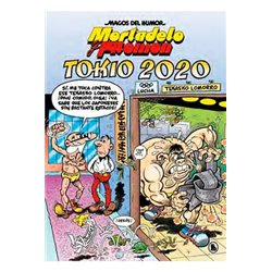 MAGOS HUMOR 204: TOKIO 2020 (MORTADELO Y FILEMÓN)
