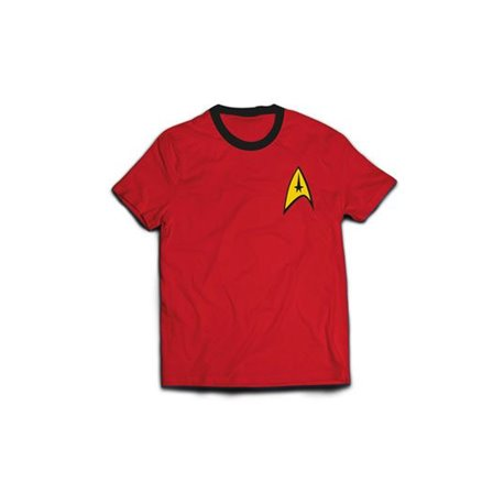Star Trek Camiseta Ringer Engineer Uniform (L)