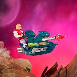 PRINCE ADAM + SKY SLED PACK FIGURA 14 CM MASTERS OF THE UNIVERSE ORIGINS