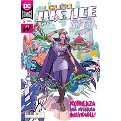 YOUNG JUSTICE NÚM. 15