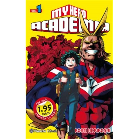 MM My Hero Academia nº 01 1,95€