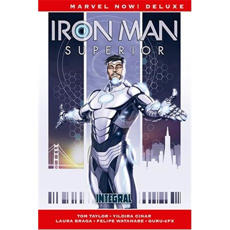 IRON MAN SUPERIOR INTEGRAL (MARVEL NOW! DELUXE)