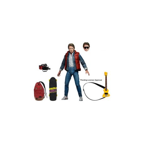 ULTIMATE MARTY MCFLY FIGURA 18 CM SCALE ACTION FIGURE BACK TO THE FUTURE