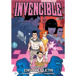 INVENCIBLE VOL. 25: CASA REPLETA