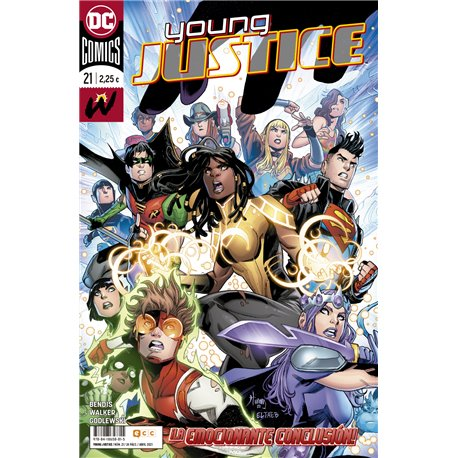 YOUNG JUSTICE NÚM. 21