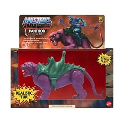 PANTHOR FLOCKED COLLECTOR EDITION FIGURA MASTERS OF THE UNIVERSE ORIGINS